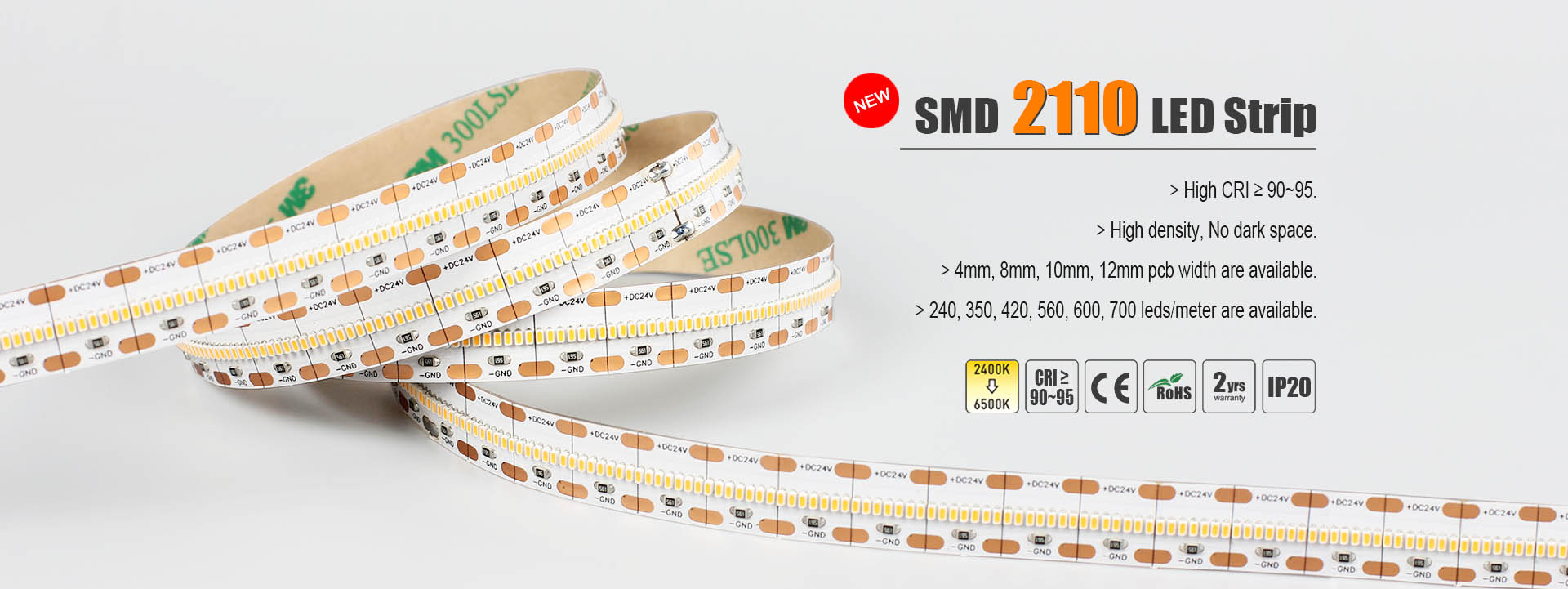 SMD 2110 led strip